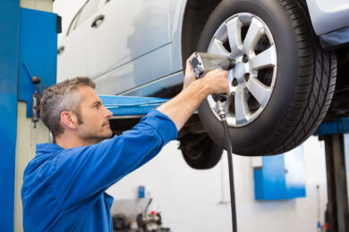 Servicios de neumáticos y ruedas
